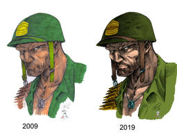 Sgt. Rock by 2009 to 2019