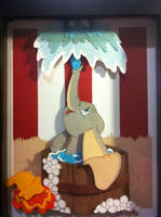 Dumbo Bathtime by jcsunshinee