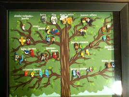 My Family Tree- Papercut by jcsunshinee