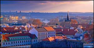 Overlooking Prague