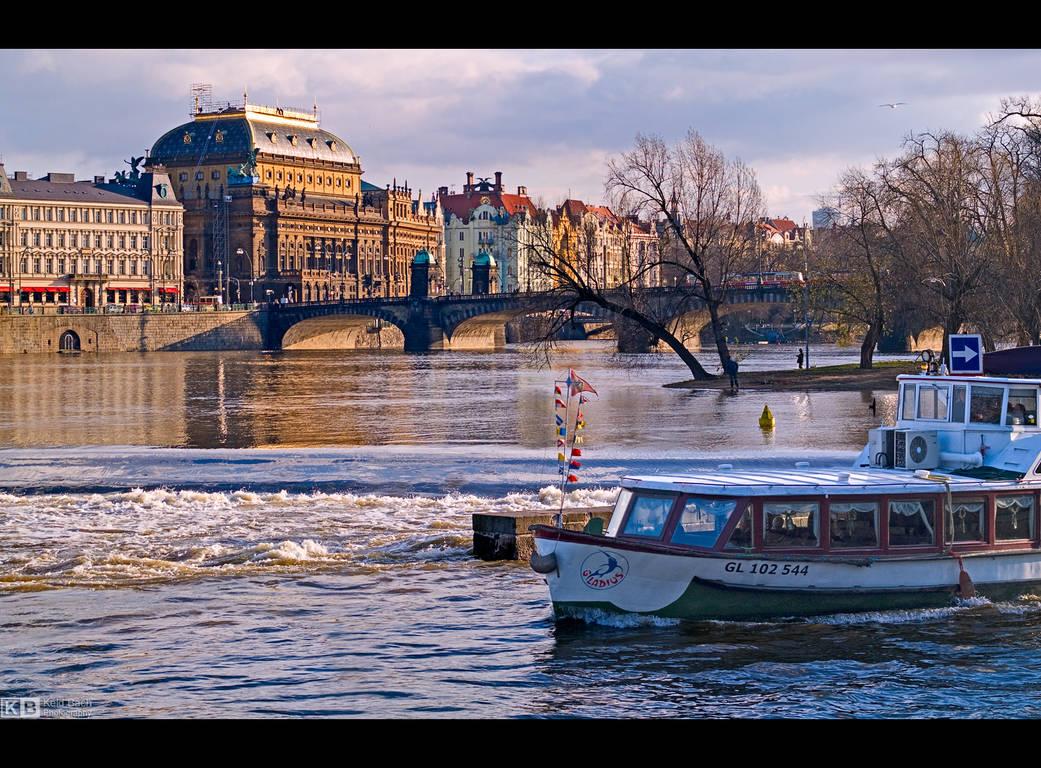 Vltava River by KeldBach