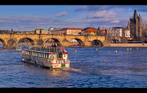 Approaching the Charles Bridge by KeldBach