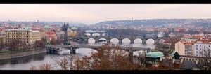Vltava River Pano