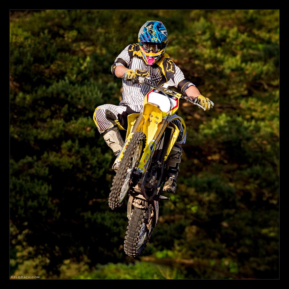 Flying Biker by KeldBach