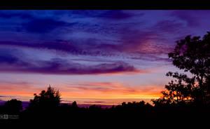 Sundown in August, 21:13 by KeldBach