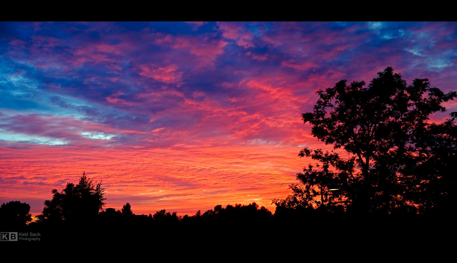Sunset in August by KeldBach