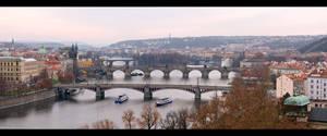 Bridges Across the Vltava