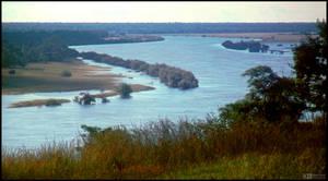 Zambezi River, Flooded