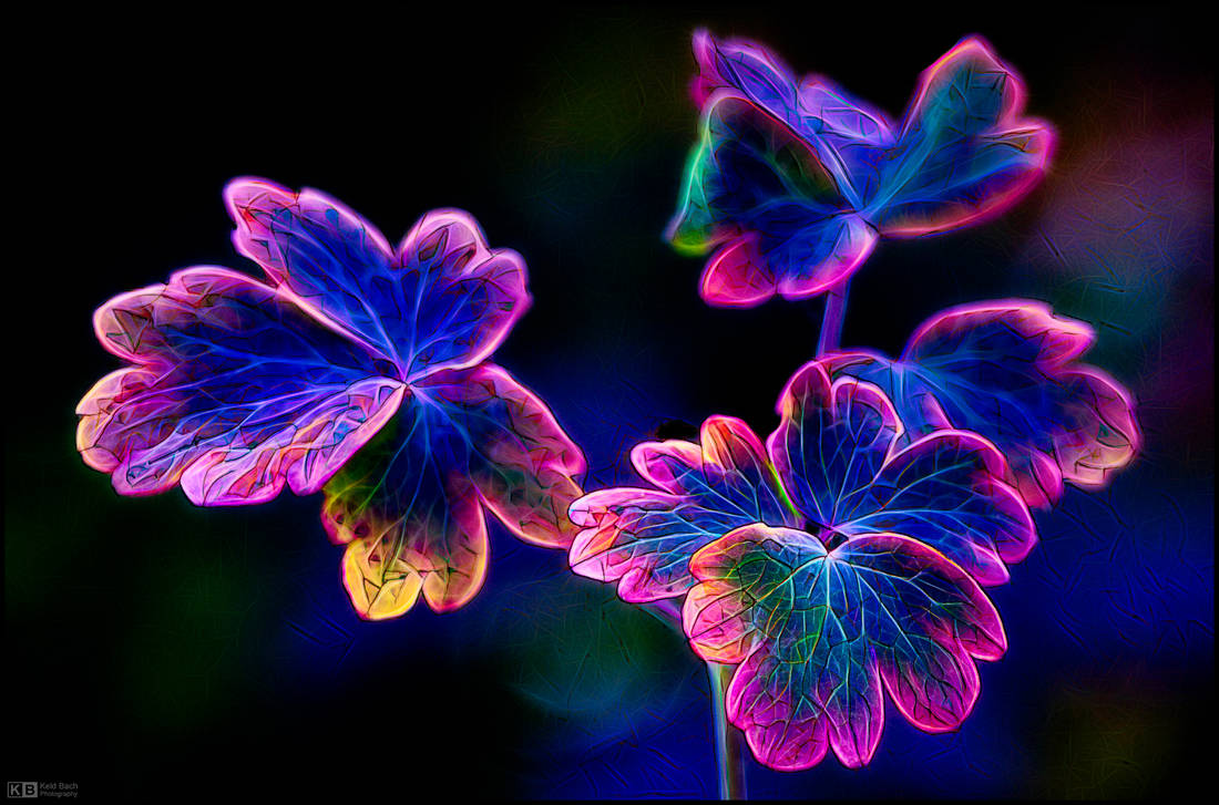 Radiant Psychedelic Glow