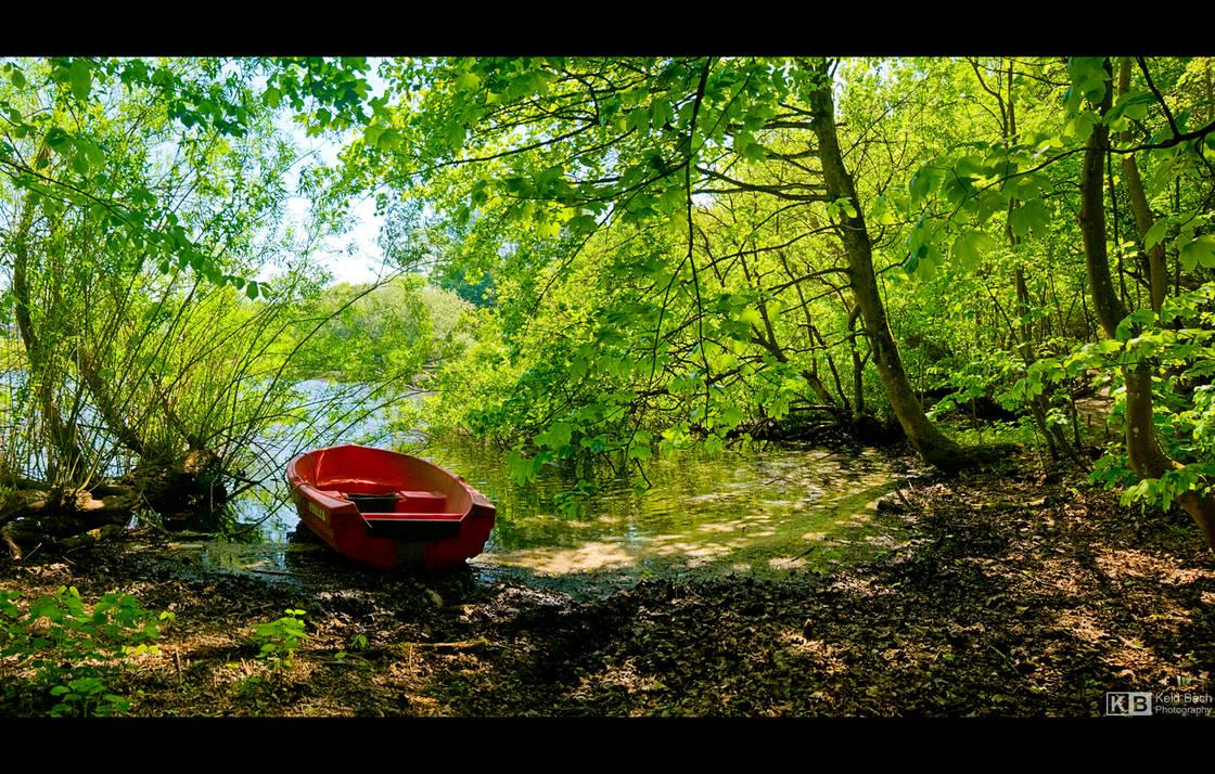 The Red Boat by KeldBach