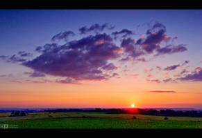Just a Simple Sunset by KeldBach