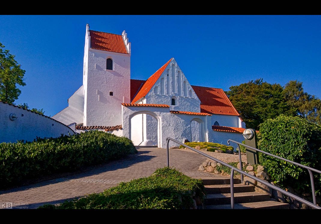 Slots-Bjergby Church by KeldBach