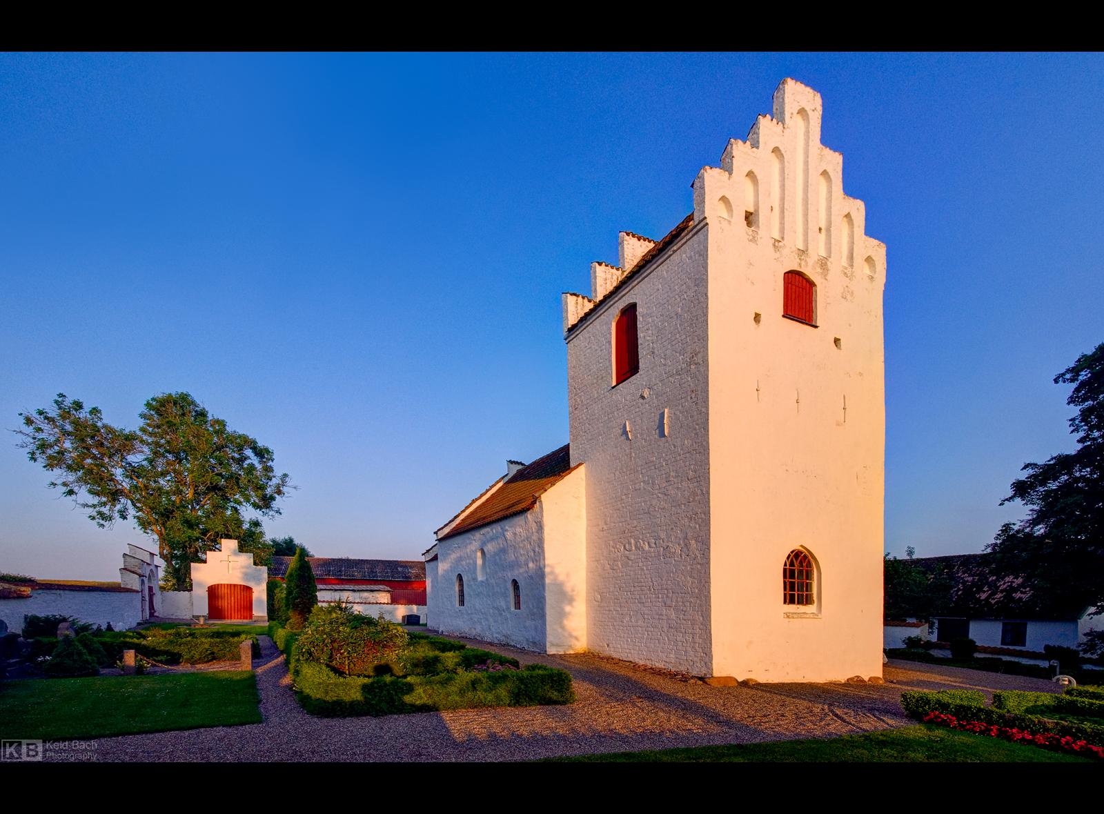 Gudum Church by KeldBach