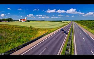 Fahr'n Fahr'n Fahr'n auf der Autobahn by KeldBach