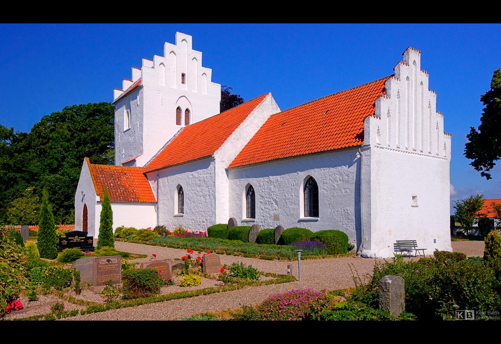 Sorterup Church by KeldBach