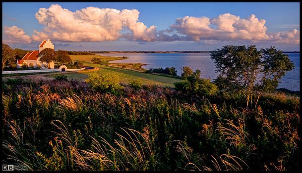 Overlooking the Lake by KeldBach