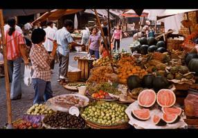 Vegetable Market by KeldBach