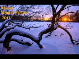 Happy Winter Solstice 2015 by KeldBach