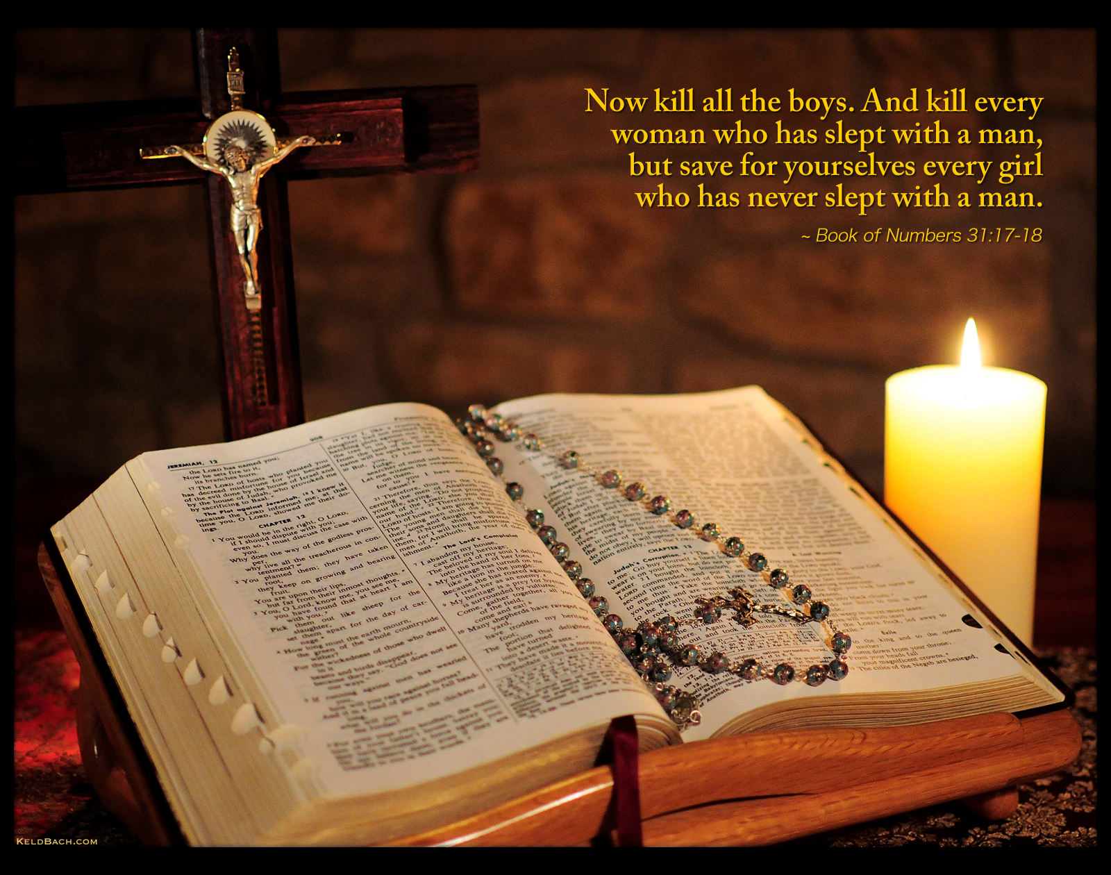 About Vengeance in the Holy Bible by KeldBach