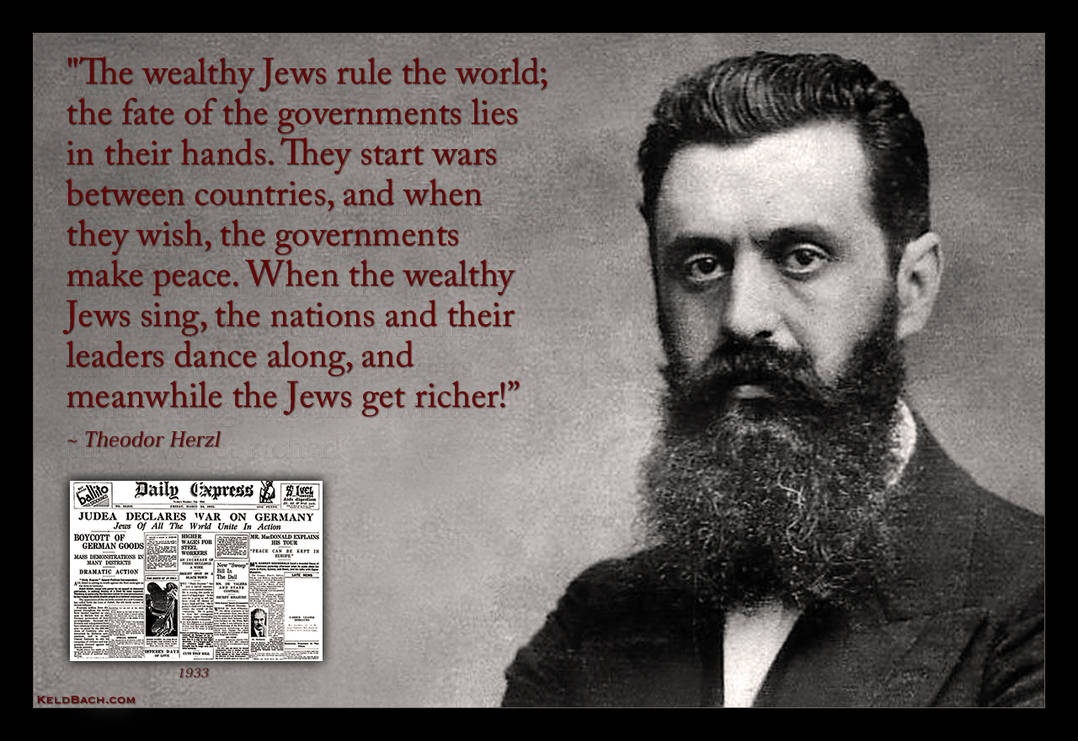 Father of Zionism by KeldBach