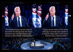 Trump Taking the Oath at AIPAC by KeldBach