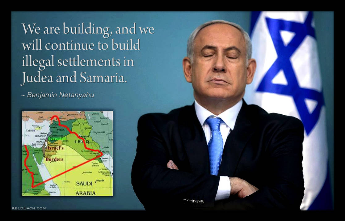 While Dreaming of a Greater Israel by KeldBach