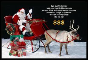 Bye, Bye Christmas! by KeldBach