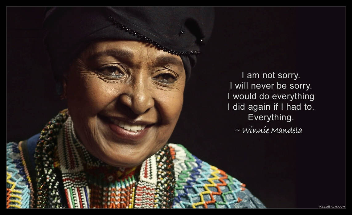 Winnie Mandela: I Am Not Sorry by KeldBach
