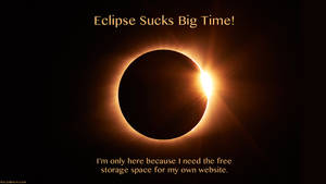 Eclipse Sucks Big Time!