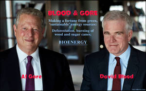 Blood and Gore - The Fake Environmentalists by KeldBach