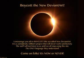 Boycott the New DeviantArt!