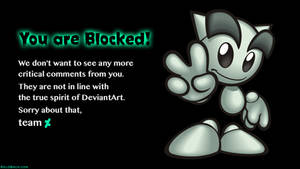 Blocked by the Staff!