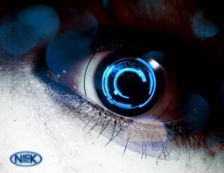 Techno Eye (blue) by darthblinx