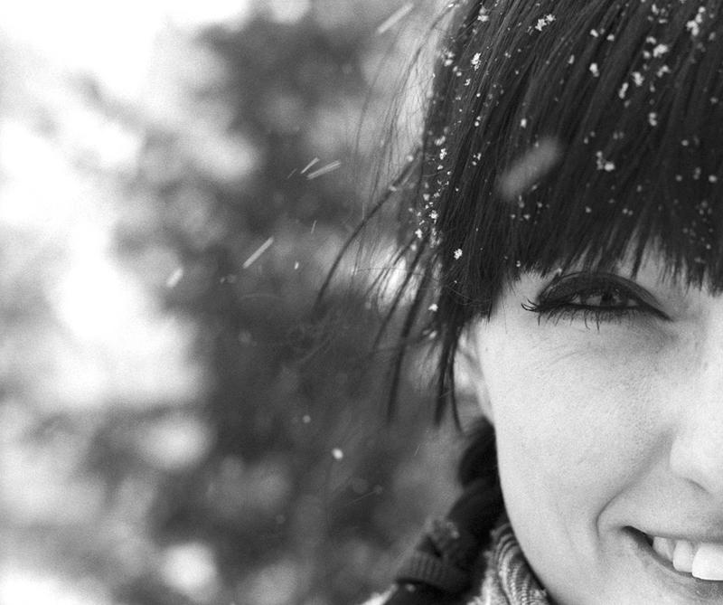 it's snowing! by june-june