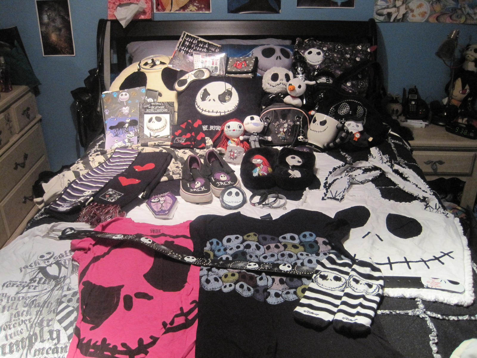 Nightmare Before Christmas Bedroom Decor My Nightmare Before Christmas Collection By Ringo101 On Deviantart