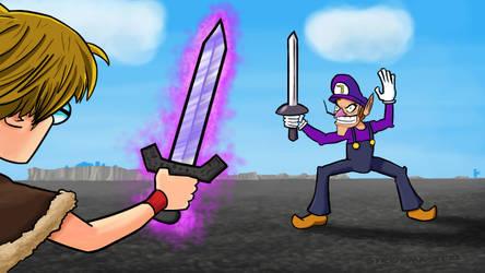 PBG MineZ Hardcore 2 - Waluigi Fight