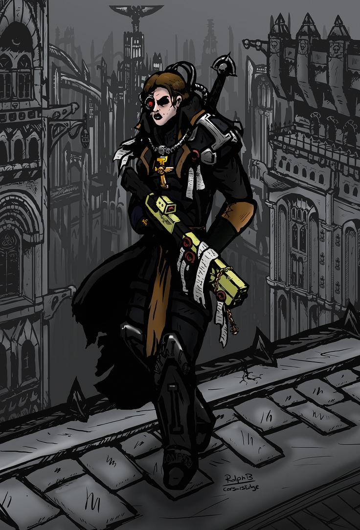 Inquisitor, Ordo Xenos by CorsairsEdge