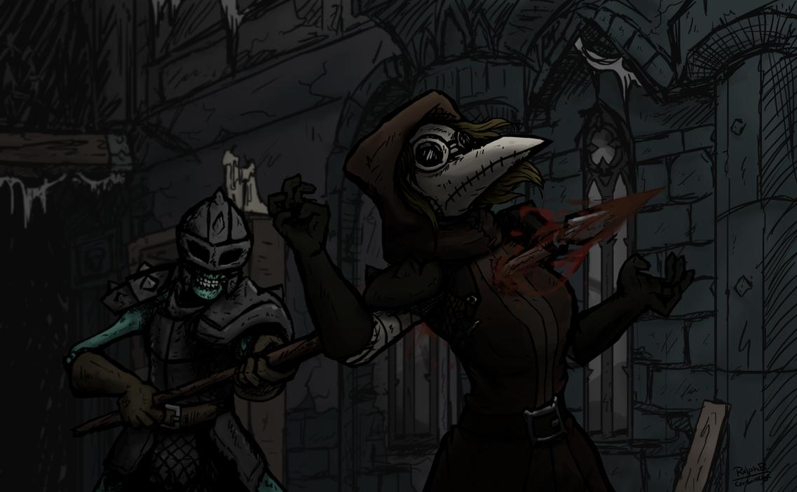 Darkest Dungeon Ruins - Impaled by CorsairsEdge