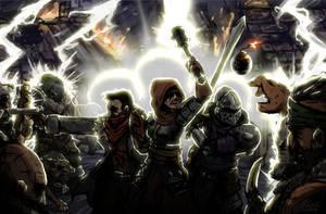 Darkest Dungeon - Through the Feuersturm by CorsairsEdge