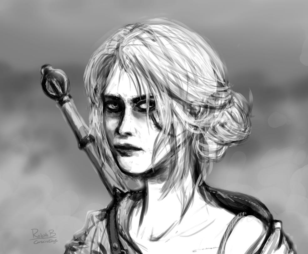 Ciri (Witcher Series) by CorsairsEdge