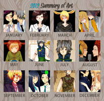 2012 Summary of Art by prince-buggy