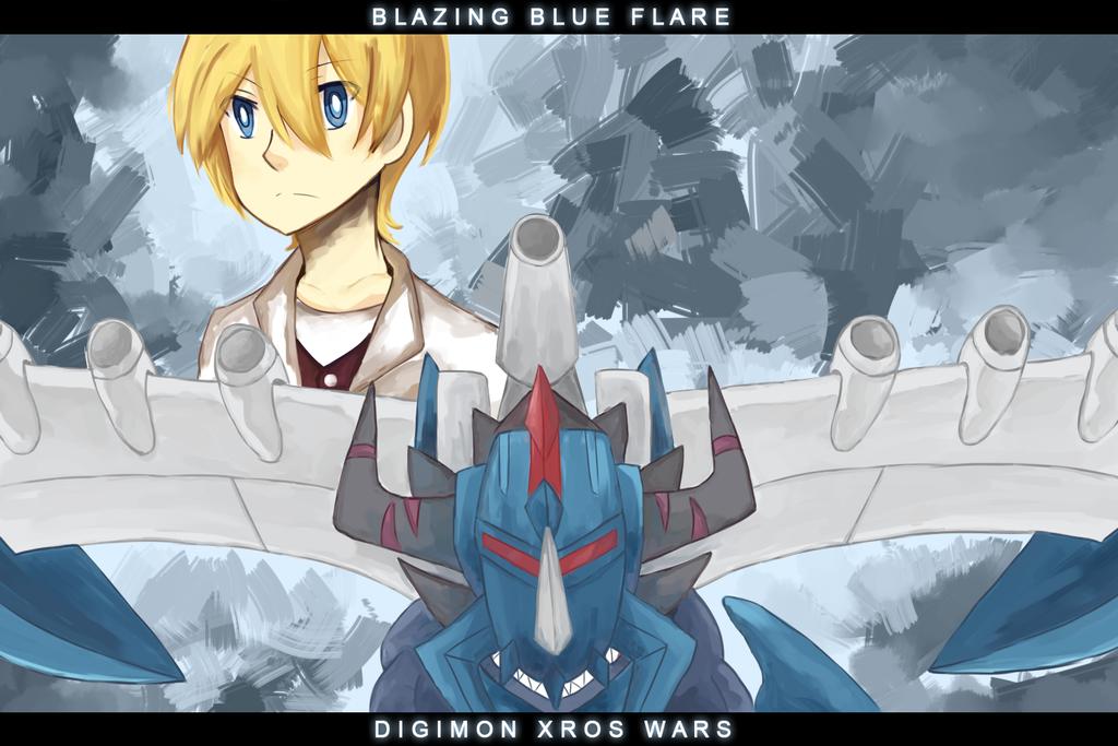Blazing Blue Flare by blearry1