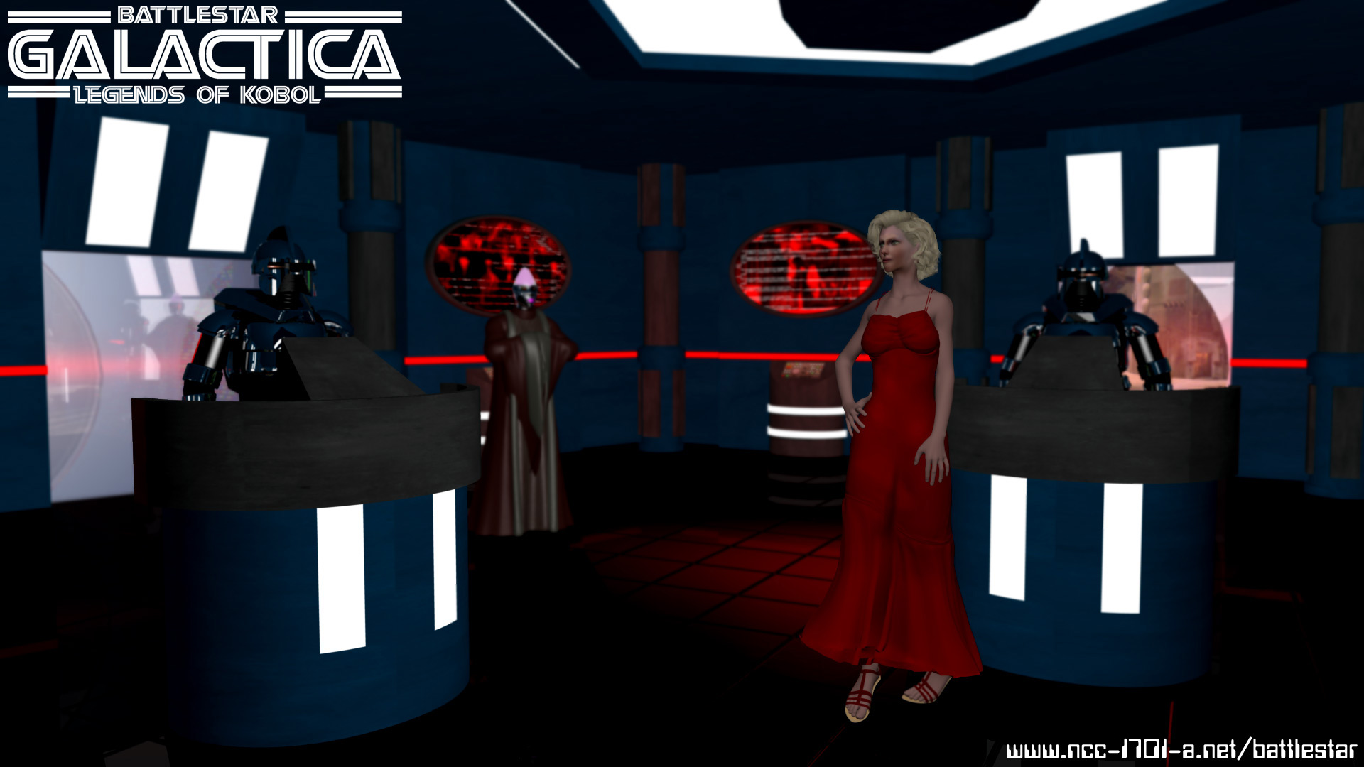 BattleStar Galactica: Legends of Kobol - Caprica by STLegends