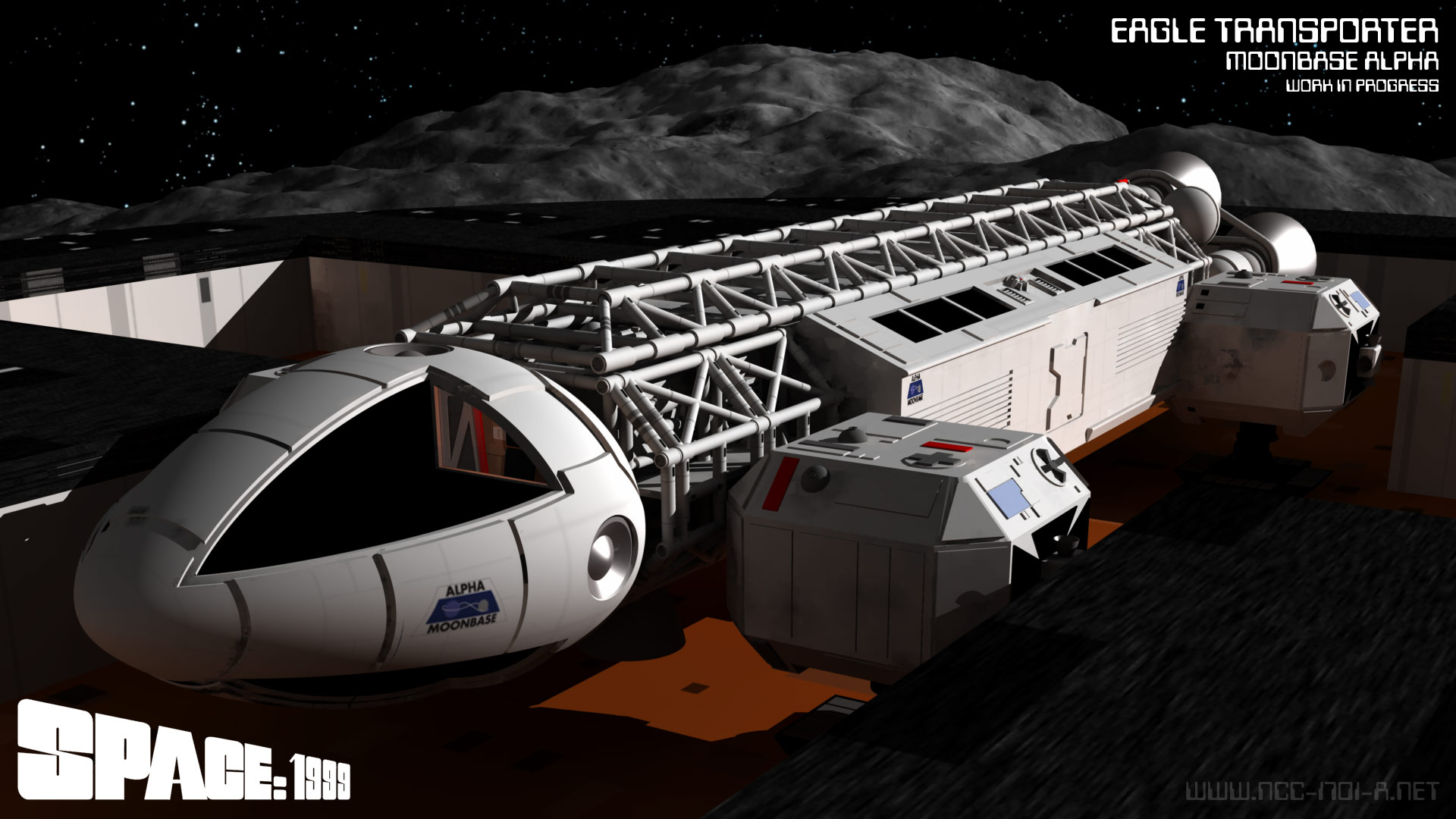 Space 1999 Saturday - Eagle Ready by STLegends