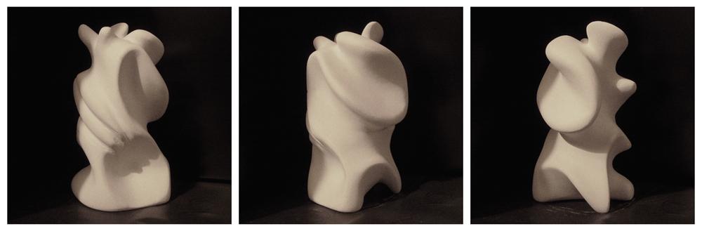 Organic sculpture by Mawk-G