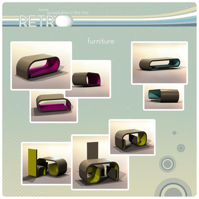 Retro furniture poster by Mawk-G on DeviantArt