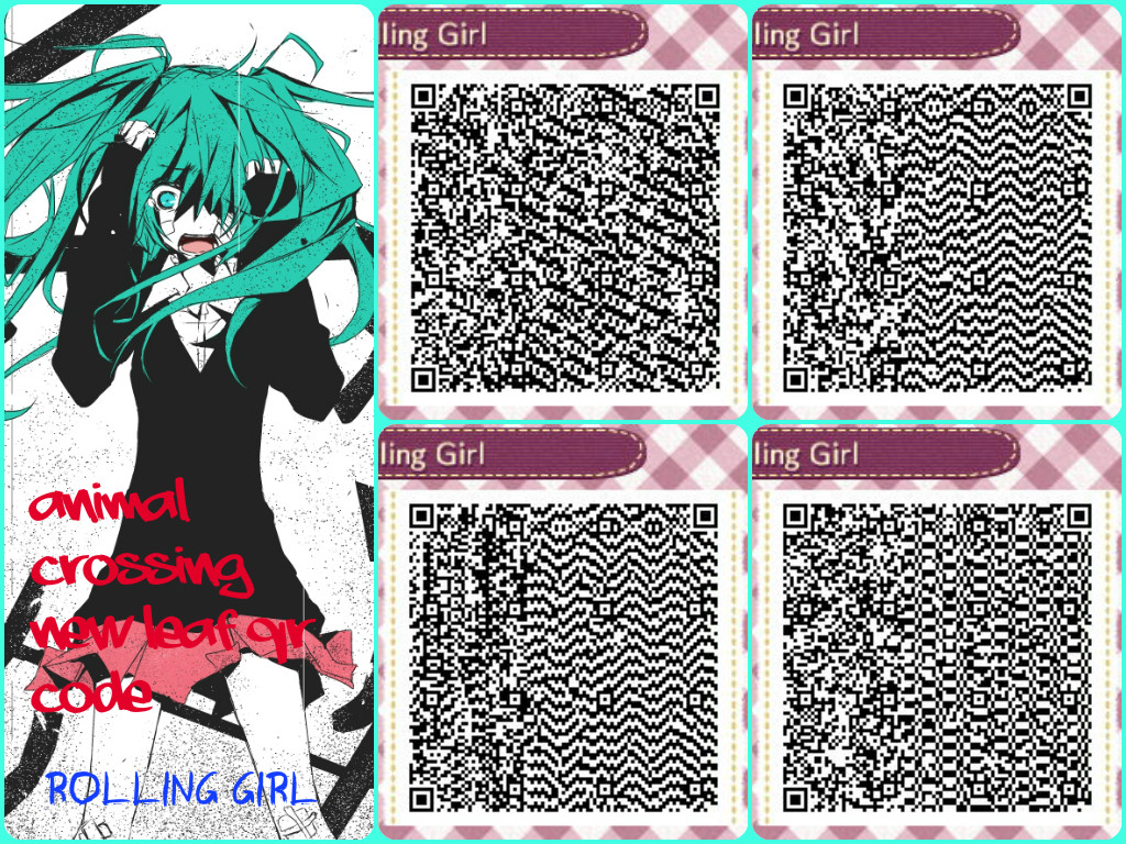 Animal Crossing New Leaf Qr Code Rolling Girl By Puertoricanmiku