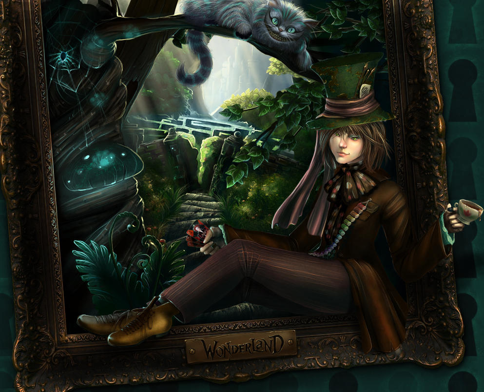 Welcome to Wonderland by shalizeh
