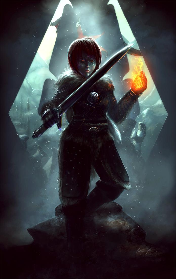 Dragonborn by shalizeh