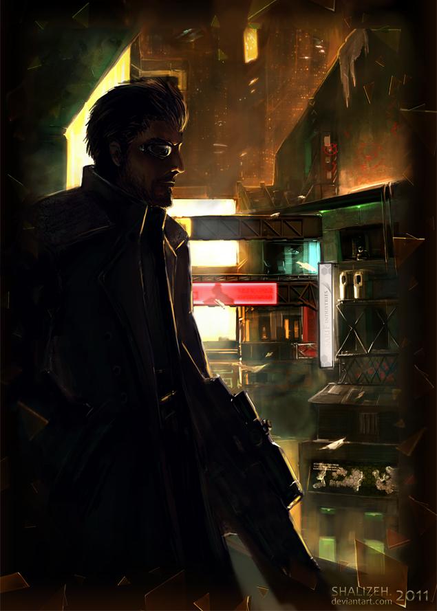 Deus Ex by shalizeh